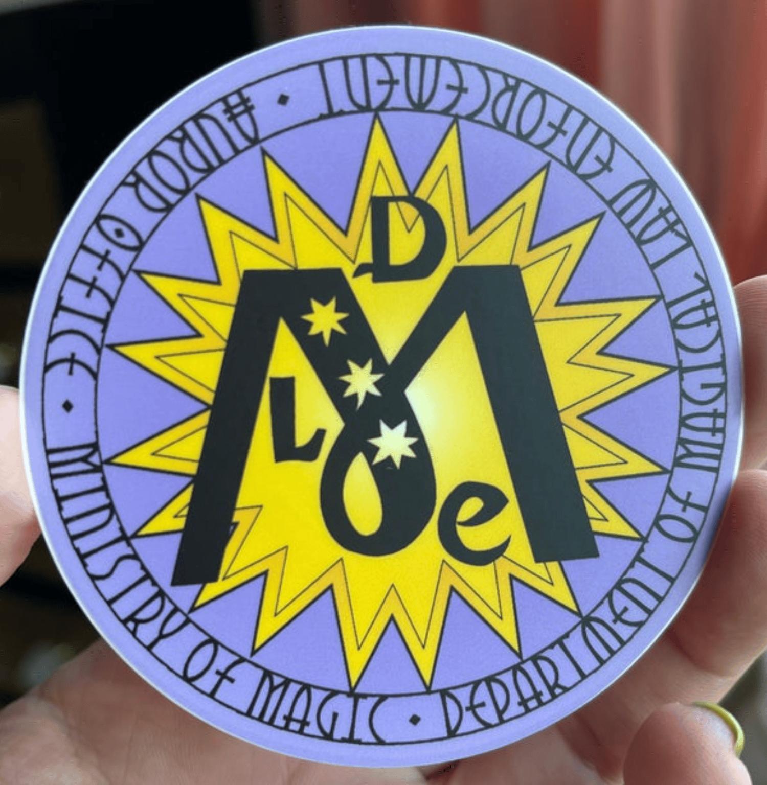 Ministry DMLE Aurore Office Badge Sticker