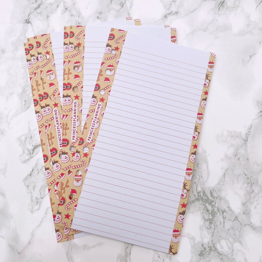 Image of PETITE PLANNER - CHRISTMAS CANDY NOTEPAPER