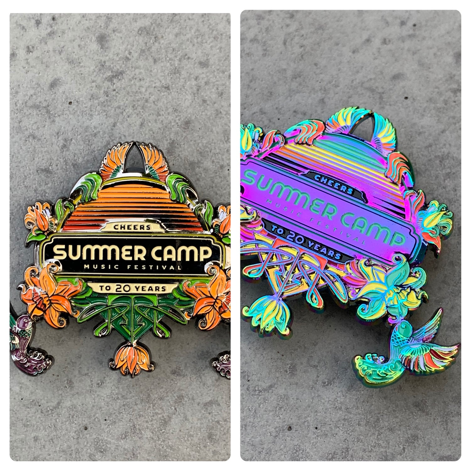 Completely Bonkers - Official Summer Camp 2021 Hummingbird Pin