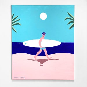 """""""Goodbye Summer"""" - canvas painting"""