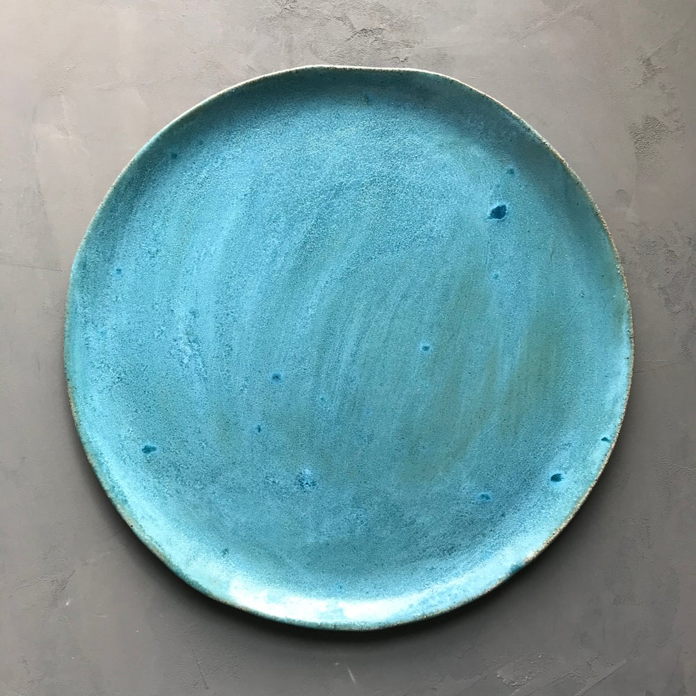 Image of Turquoise platter 2