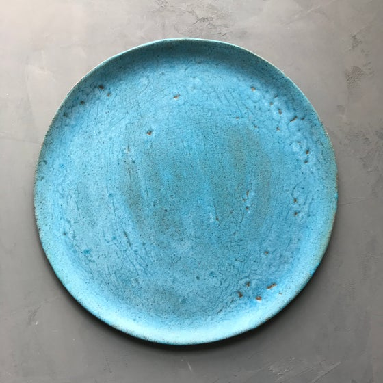 Image of Turquoise platter 3