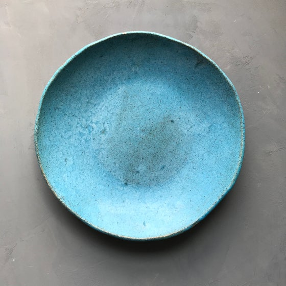 Image of Turquoise matte bowl