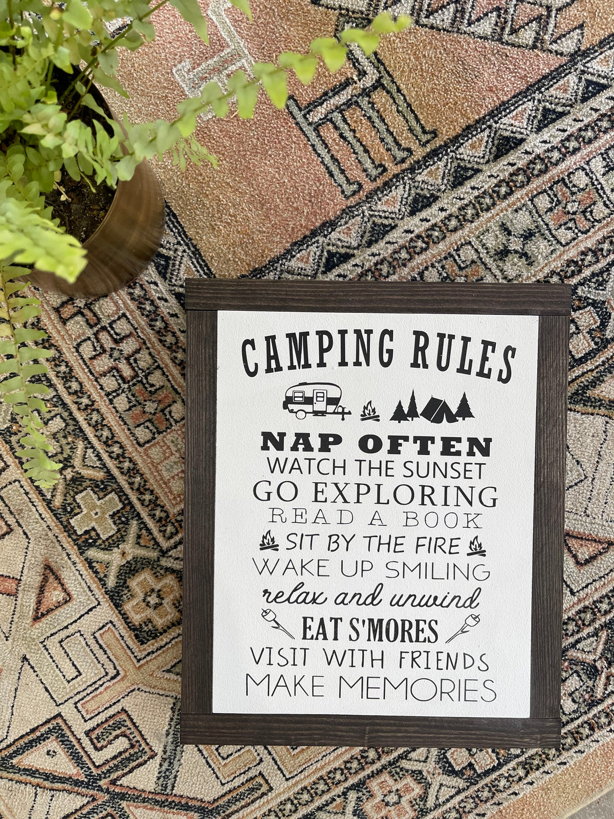 Image of Camping Rules sm