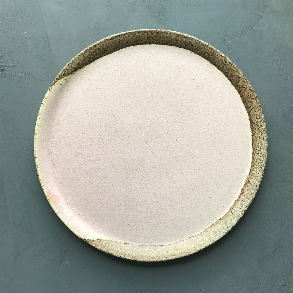 Image of Poured blush plate