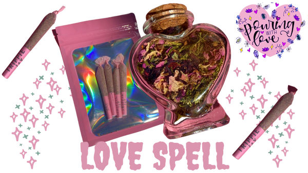 Image of Love Spell herbal blends (smoking and teas)