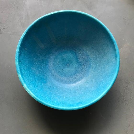 Image of Turquoise matte bowl 2