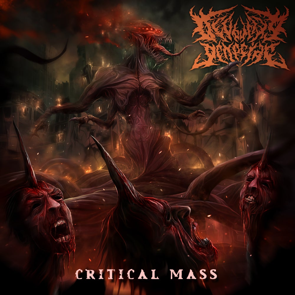 Image of DEVOURING GENOCIDE - Critical Mass CD EP