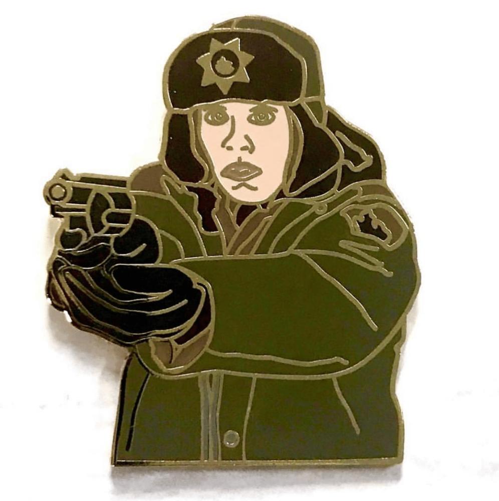 Image of Fargo - Marge Gunderson pin