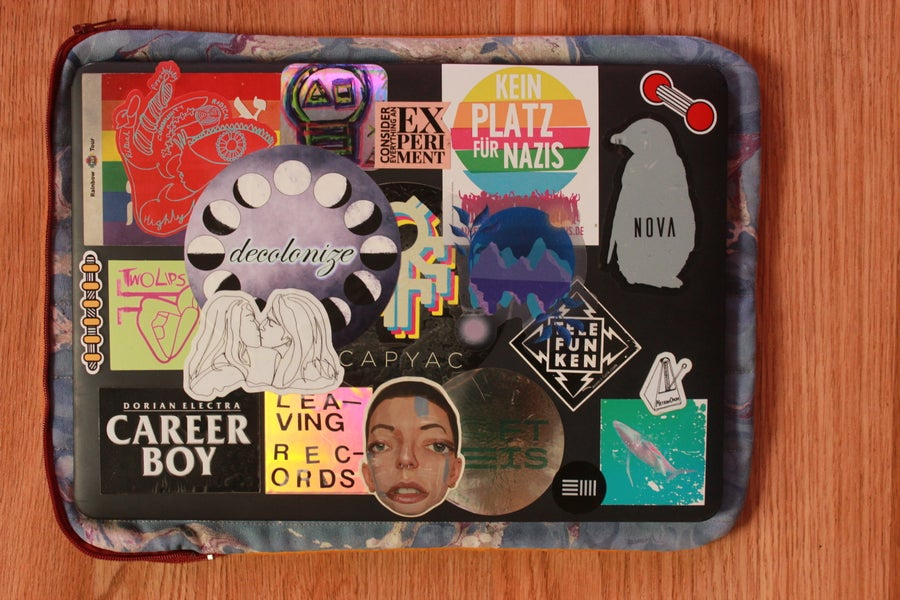 Image of Forget Me Not Laptop Case