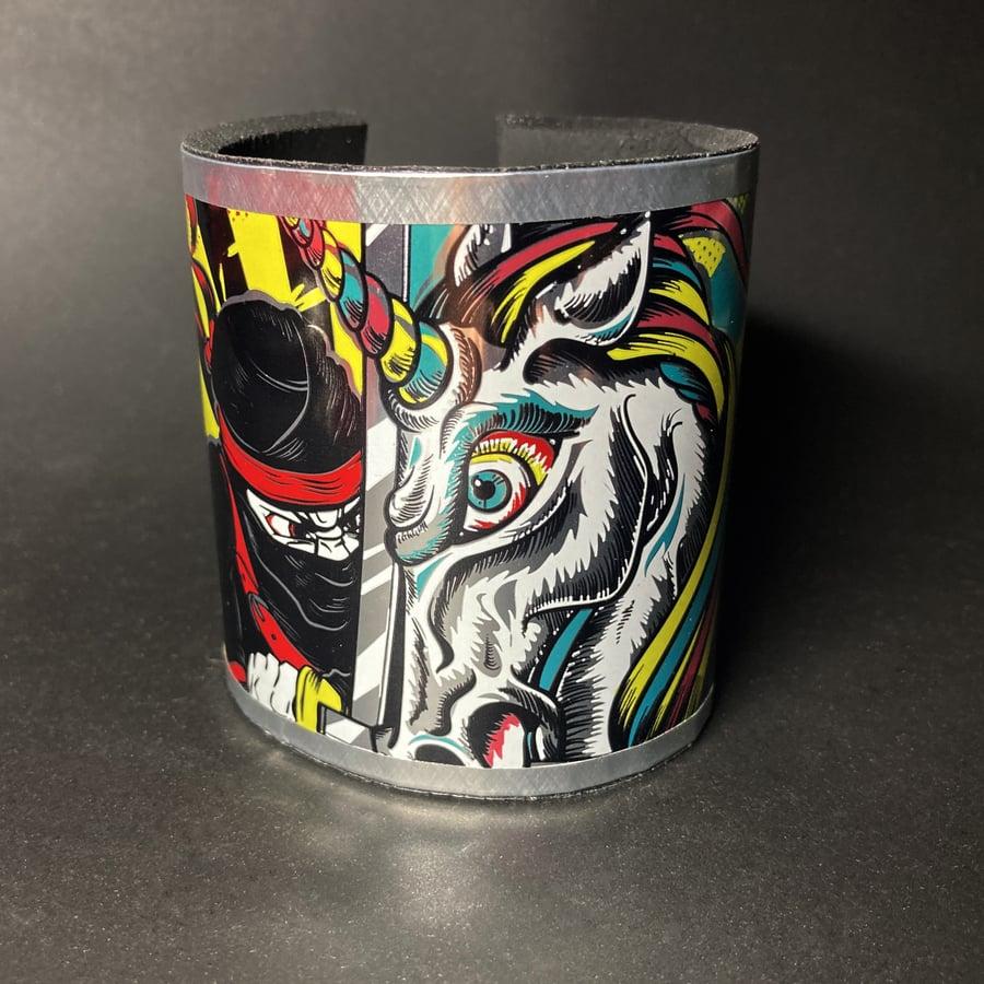Image of Ninja vs Unicorn .03 - Magnet Clasp