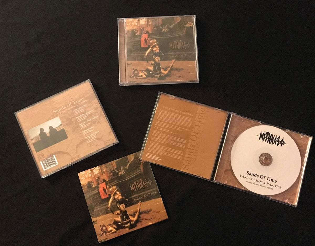 Image of Mithras 'Sands Of Time - Early Demos & Rarities' CD