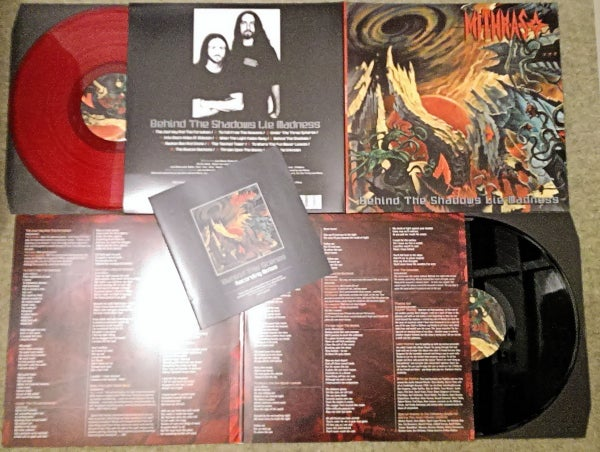Image of Mithras 'Behind The Shadows Lie Madness' Gatefold Vinyl