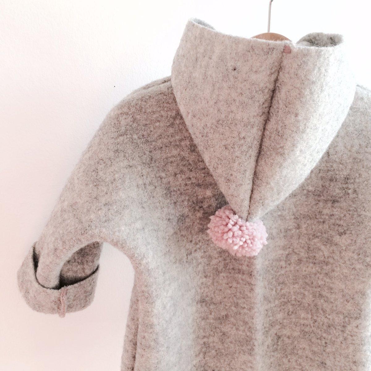 Boiled Wool Jacket Baby
