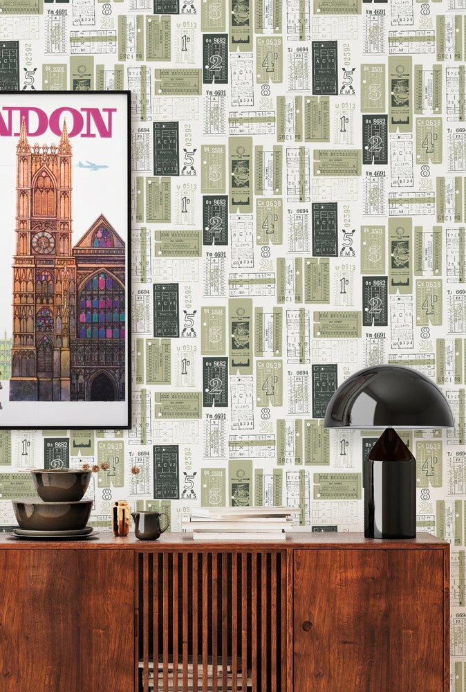 Image of Hold Tight Wallpaper - British Lichen