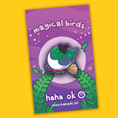 Image 1 of Magical Birds Wooden Pins