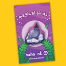 Image 2 of Magical Birds Wooden Pins