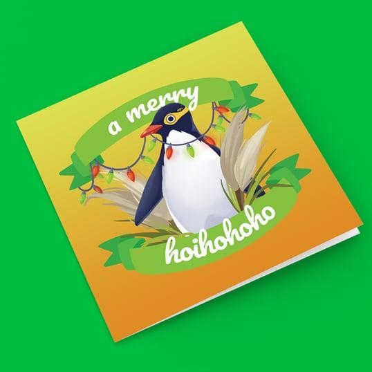Image of A Merry Hoihohoho - Greeting Card