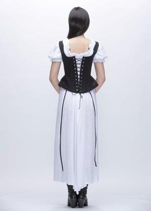 Image of  SAMPLE SALE -  Lady Jane Corset Vest In Cotton