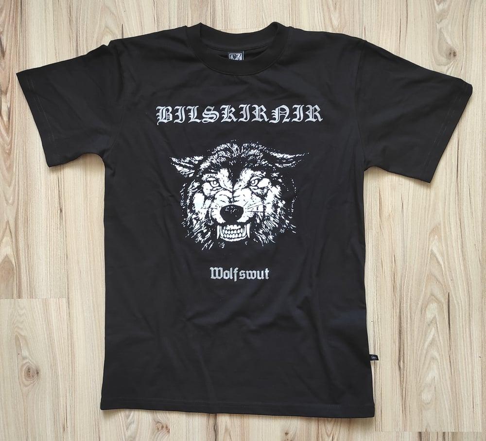 "Image of BILSKIRNIR ""Wolfswut"" T-SHIRT"