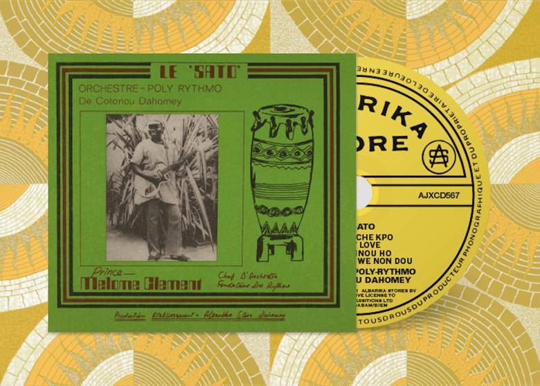 Image of Orchestre Poly-Rythmo De Cotonou Dahomey - Le Sato (CD)