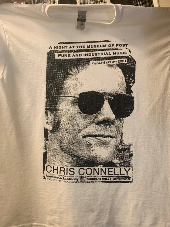 Image of Chris Connelly Night at the Museum of Post Punk and Industrial Music Tee