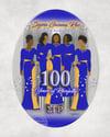 SGRho Centennial Plate