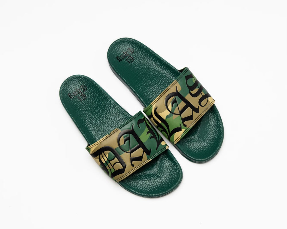Image of DALLAS CAMO SLIDES (NOW SHIPPING)