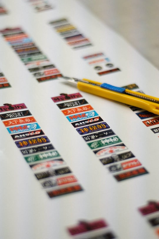 Image of 1/10 Scale Sticker Pack V2