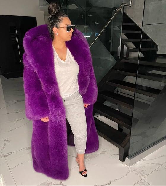 Image of Carmen Fox Fur Coat