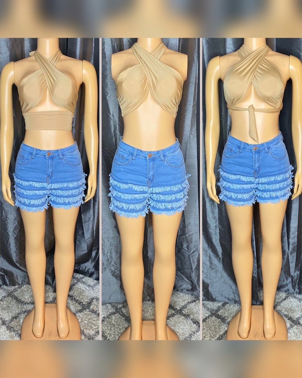Bad & Bougee Top & Shorts