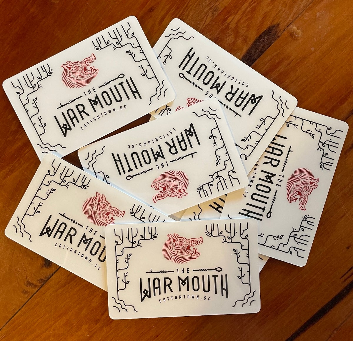 Image of War Mouth gift card
