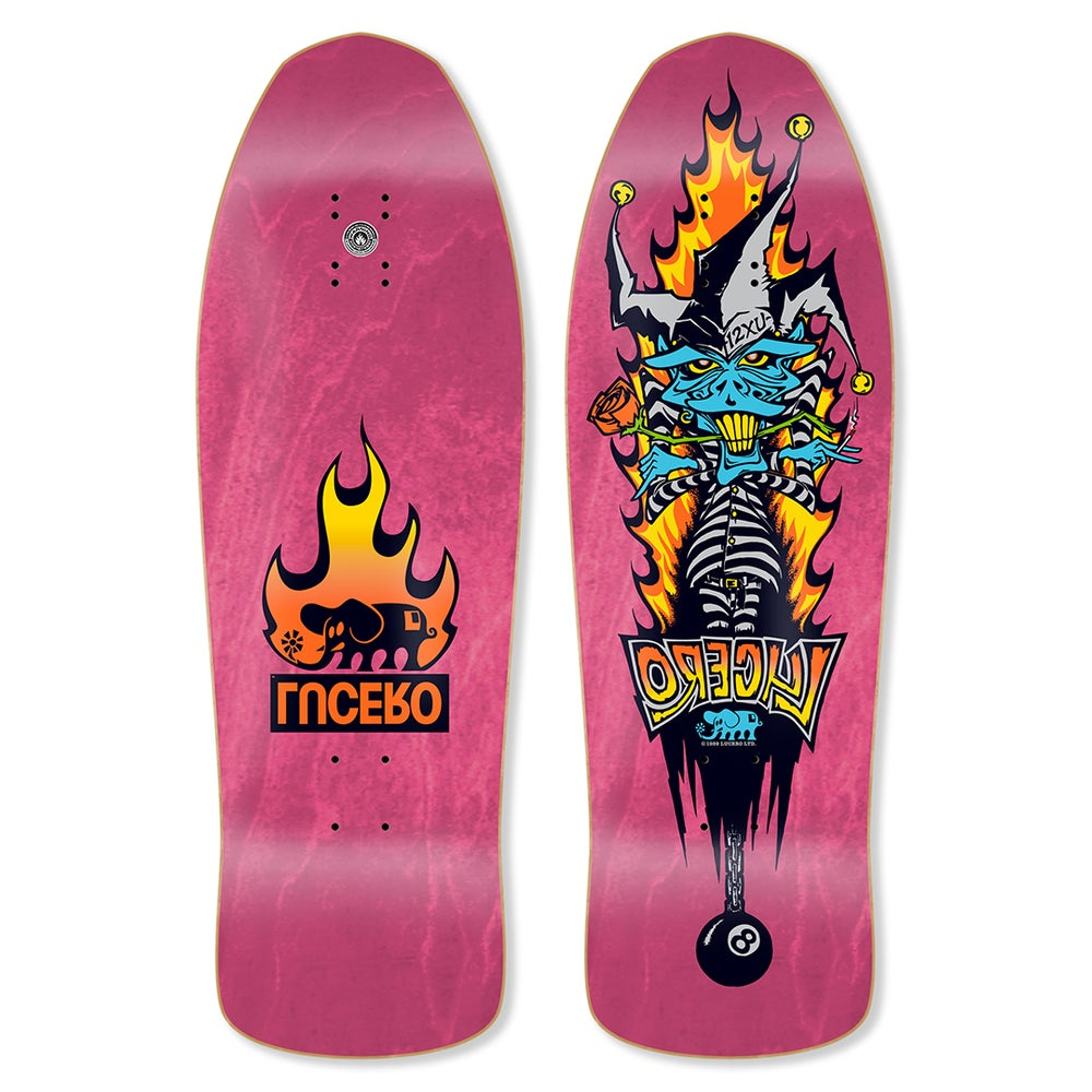 """Image of Lucero """"1 2 X U"""" Hot Pink Stain"""