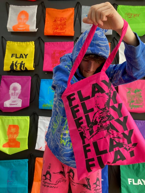 Image of HOT PINK TOTE