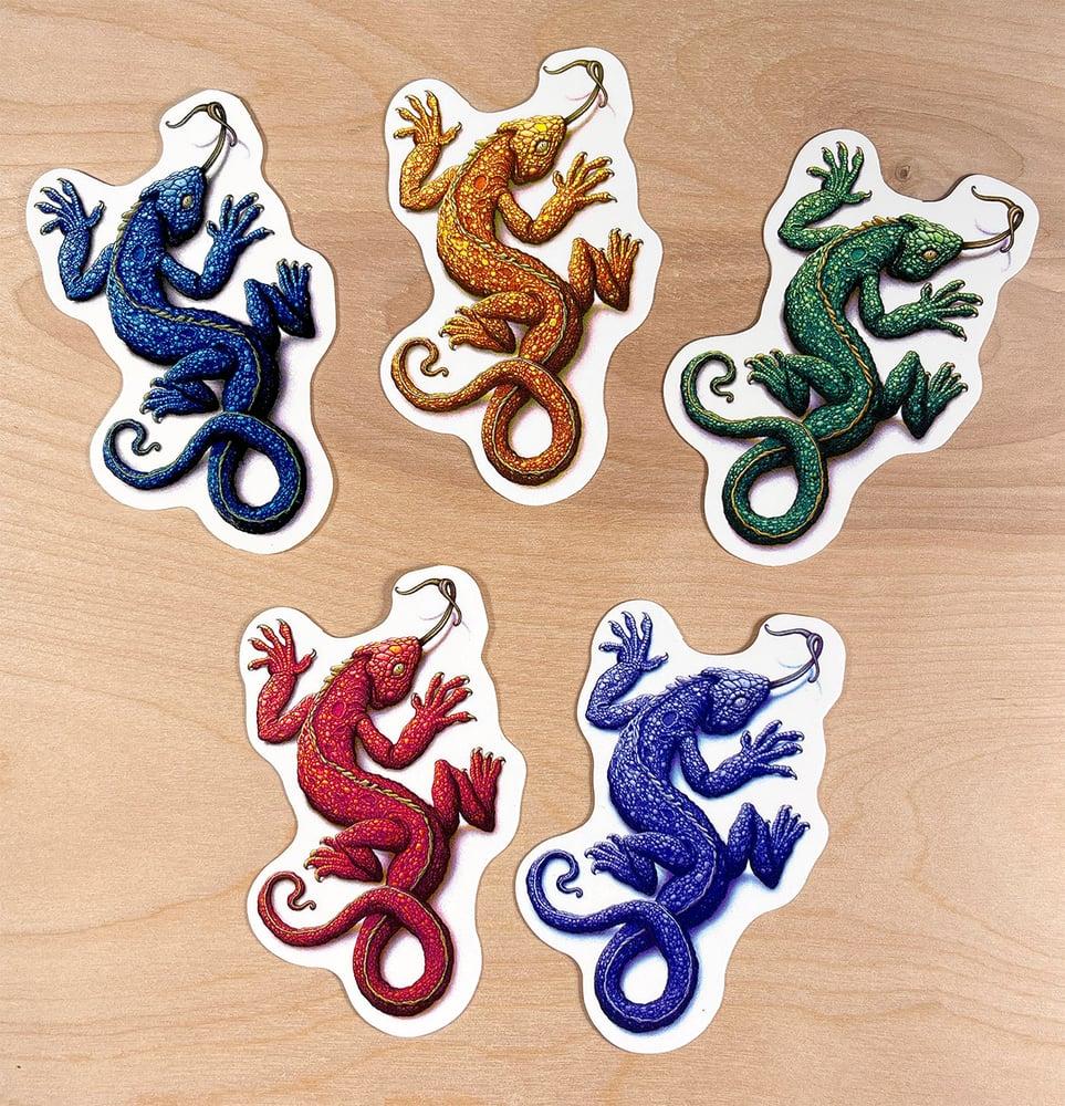Image of Chroma Lizardo Pack 'O Stickers