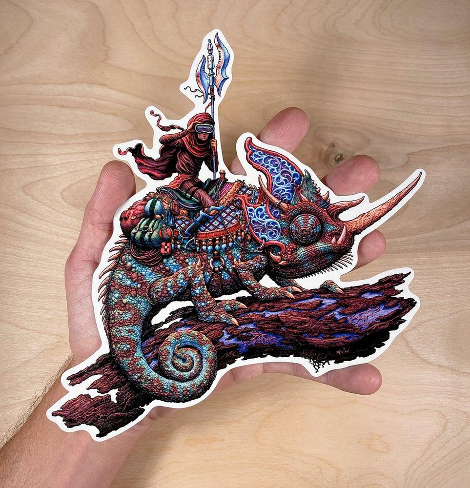 Image of Pale Rider Oversize Sticker