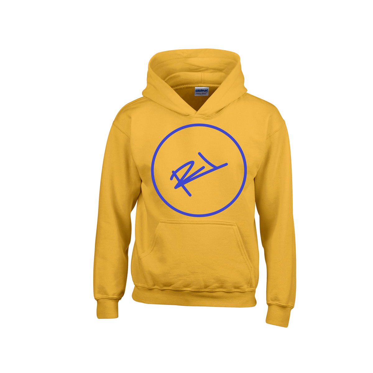 Image of GOLD & BLUE TOWN COLLECTION HOODIE