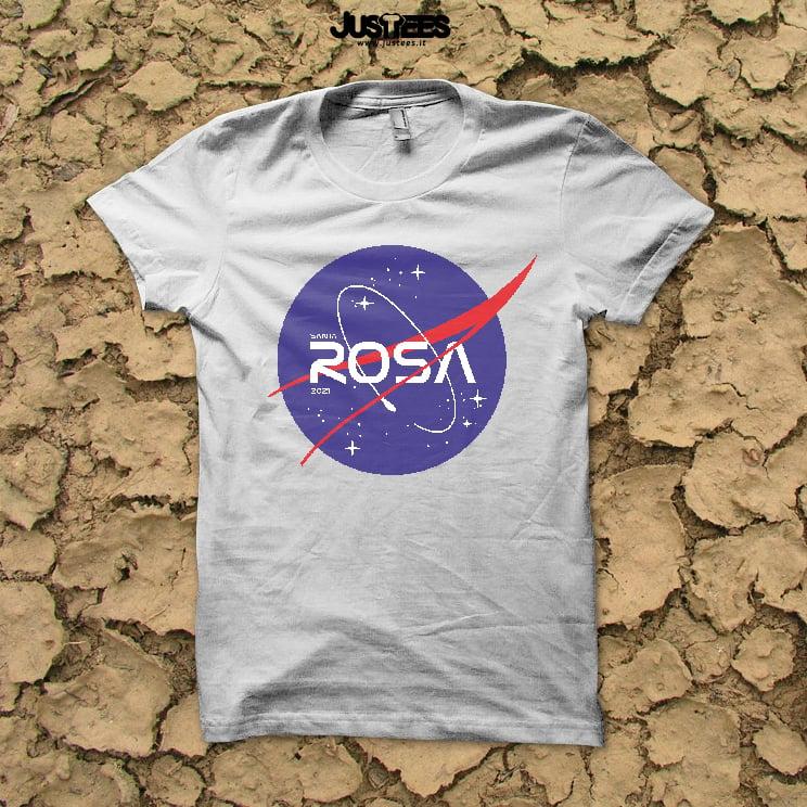 Image of T-SHIRT SANTA ROSA - NASA LOGO
