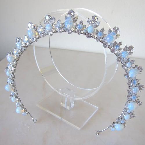 Image of Moonstone Goddess halo tiara