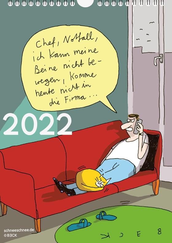 Image of Cartoon-Kalender 2022