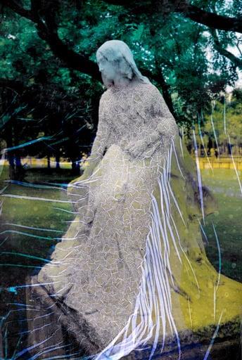 Image of LAYERS | STATUTS-STATUES, George Sand #1 PHOTO d'ANNA KATHARINA SCHEIDEGGER