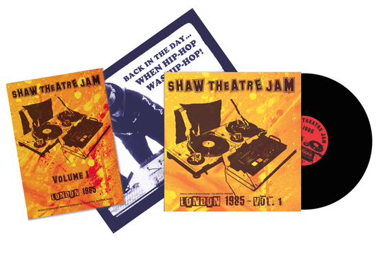 Image of 'THE ARTFUL DODGER PRESENTS WITH KOTB THE 1985 SHAW THEATRE JAM, ART PIECE LIMTED EDITION'.