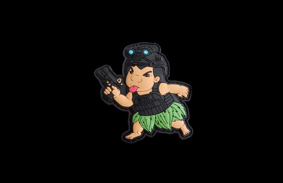 Image of Tactical hunnie girl