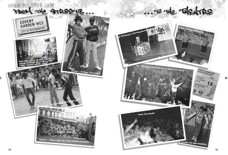 """Image of 'THE ARTFUL DODGER PRESENTS WITH KOTB THE 1985 SHAW THEATRE JAM, ART PIECE LIMTED EDITION"""". ."""