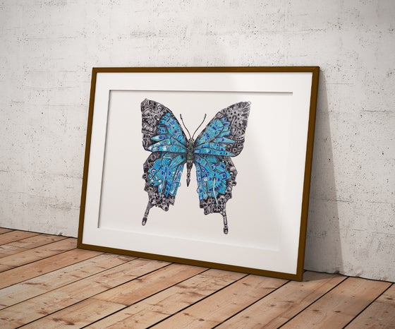 Image of Papillon The Steampunk Butterfly