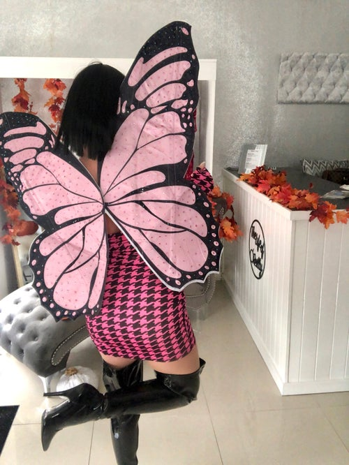 Image of Dark Butterfly Costume