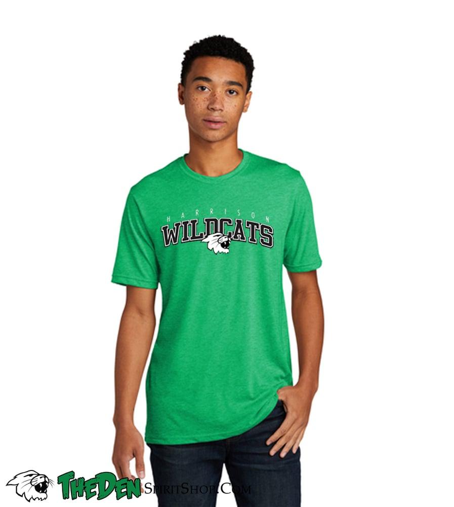 Image of Wildcats Green Men's Tee