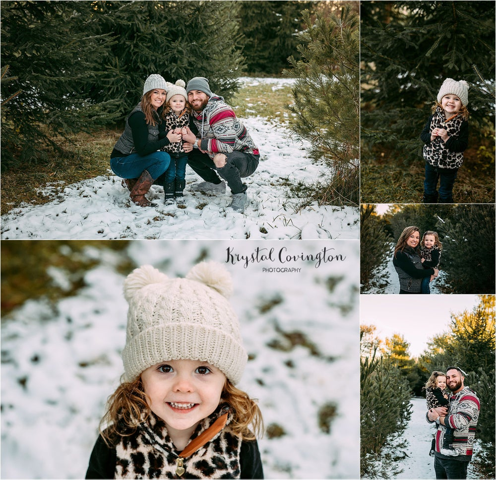 Image of Outdoor Christmas Minis!