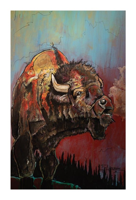 Image of Bison - BHA Limited Edition Series