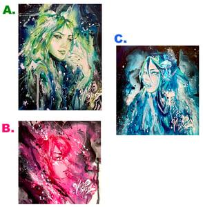 Image of 3 Original Holographic Prints